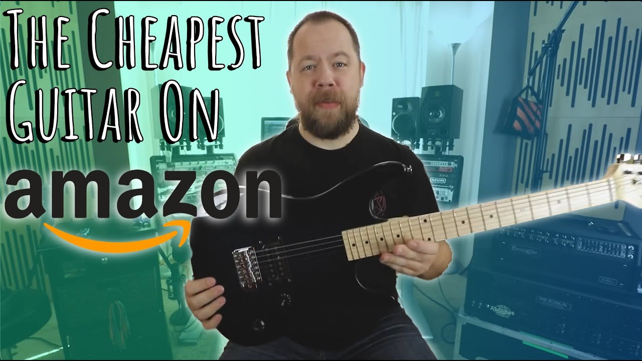 The Cheapest Guitar On Amazon!