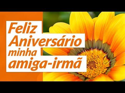 Msg de aniversário - Feliz aniversário, minha amiga-irmã