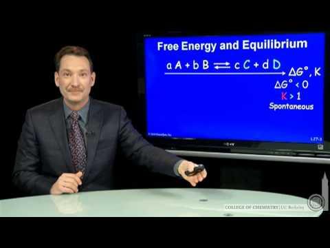 Freie Energie und Gleichgewicht