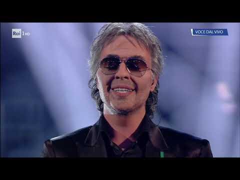 Federico Angelucci è Andrea Bocelli: