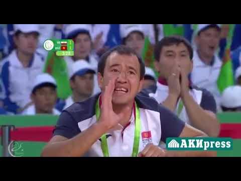 Финальная схватка студента ЖАГУ калы Сулайманова Азербайджан