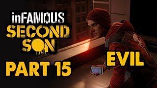 inFamous: Second Son Evil Walkthrough Part 15 - Catch Hank - Evil&Expert Playthrough