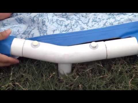 Bestway Steel Pro Round Frame Pool Set Set-up Video