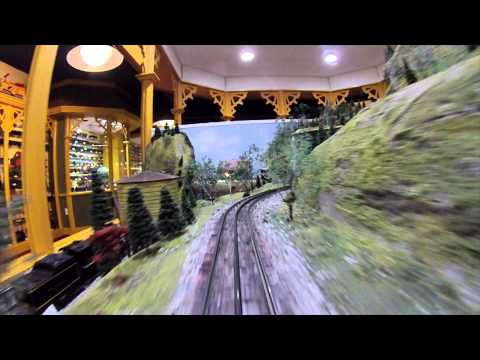 O Gauge Middle Track Cab View - NTTM (видео)