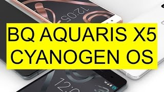 Unboxing BQ Aquaris X5 Cyanogen Edition