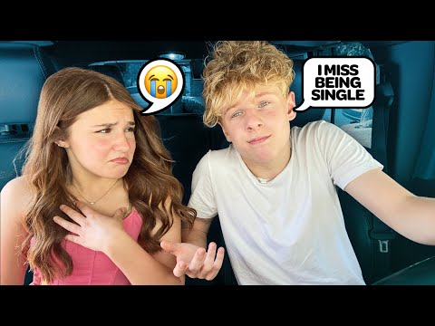 """Telling My GIRLFRIEND """"I MISS BEING SINGLE"""" **She Cried** 
