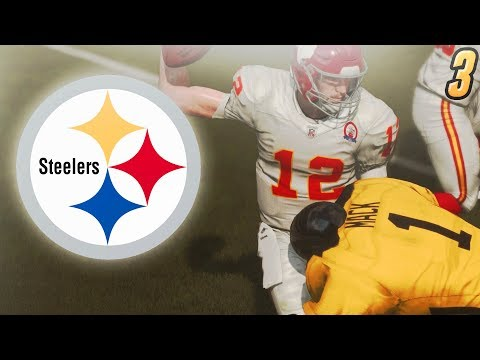 The Sack Attack From the Yellow and Black | Madden 19 CreatorsFM Steelers Franchise #3