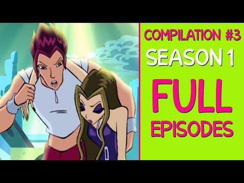 Winx Club - Season 1 Full Episodes [7-8-9] REMASTERED - Best Quality!