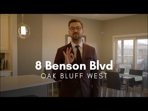 FOR SALE: 8 Benson Blvd   Oak Bluff West   Bobby Wall Winnipeg Real Estate