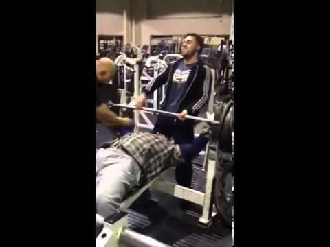 Nisar in The Gym 24/7 mad weight (видео)