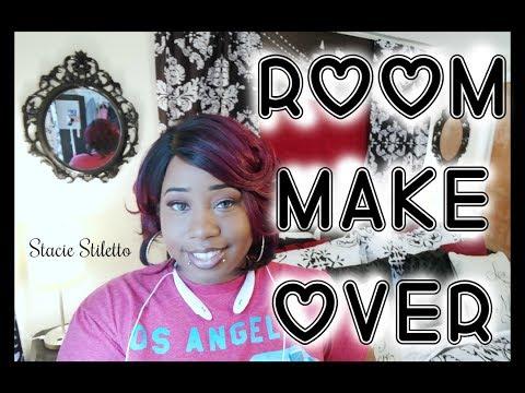Stacie Stiletto || ROOM MAKE OVER || Vlog