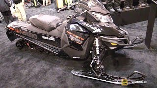 10. 2018 Ski Doo Renegade Enduro 1200 Sled - Walkaround - 2017 Toronto Snowmobile ATV Show