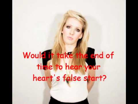 Ellie Goulding - Your biggest mistake - Lyrics