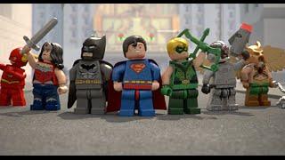 Justice League Team Up - LEGO DC Comics Super Heroes - Mini Movie