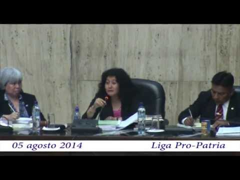 "Video. ""Antejuicio contra la juez Yassmin Barrios (05 ags 2014)"""