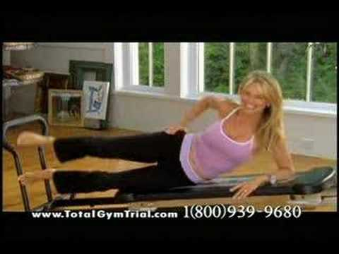 Total Gym Commercial (with Christie Brinkley, Wesley Snipes, & Janine Turner)