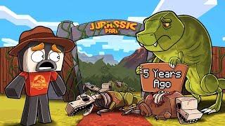 I Play My Jurassic Craft World after 5 Years! (Minecraft Dinosaurs)