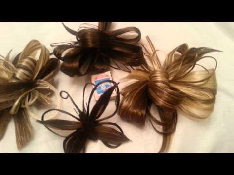 Постижерные изделия из волос пошагово