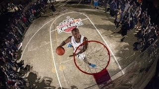 """For more 1-on-1 basketball action, check out http://redbull.com/kingoftherock Tarron """"The Beast"""" Williams wins the international..."""