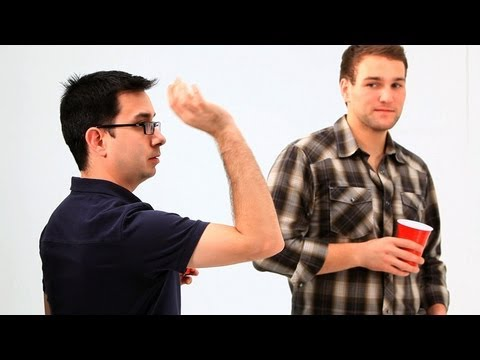 Beer Pong Shot Techniques | Drinking Games