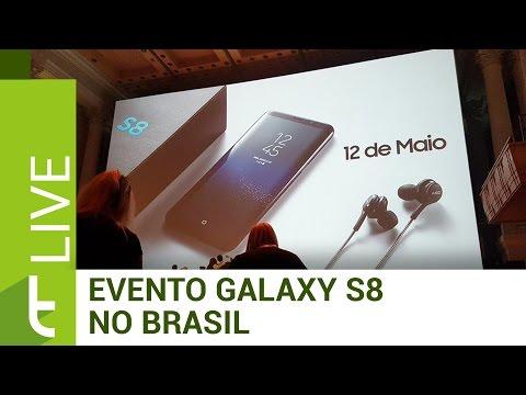 Evento de lançamento dos novos Galaxy S8 E S8 Plus no Brasil  LIVE do TudoCelular