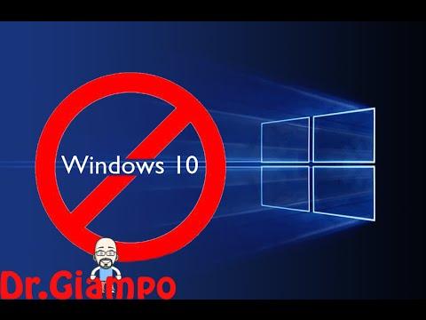 bloccare aggiornamento automatici windows 10! basta!