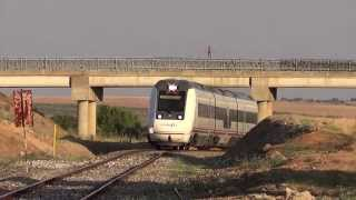 Zafra / Llerena Spain  City pictures : DMU/Automotor class/serie 599 by/por Usagre y Bienvenida (Spain)