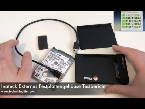 Inateck Externes Festplattengehäuse Testbericht