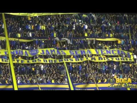 Boca mi buen amigo - Muchas veces fui preso / BOCA-NACIONAL 2016 - La 12 - Boca Juniors