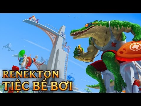 Renekton Tiệc Bể Bơi - Pool Party Renekton