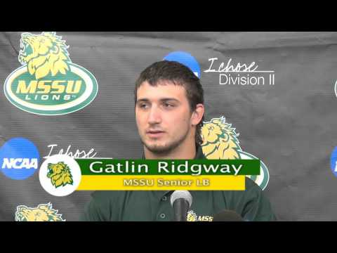 Gatlin Ridgway Press Conference Week 2