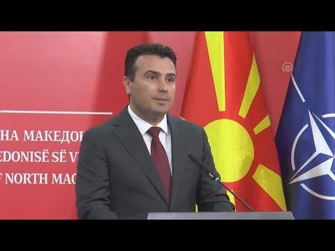 Ζ. Ζάεφ: Πρόωρες εκλογές στη Βόρεια Μακεδονία