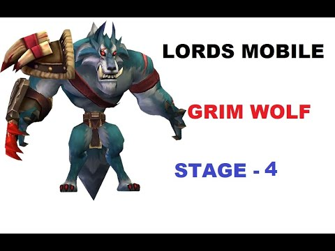 Lords Mobile Grim Wolf   How to complete stage 4