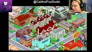 "Thanks for Joining Cat and Fox for another gaming Lets Play! ^_^Episode 17 Simpsons Tapped Out! Lvl 55 continues..., Fox tries getting her Game capture to work, but with a few new bugs...The Simpsons Tapped Out popular Forums: http://tstoaddicts.com/http://tstoforum.com/http://forum.ea.com/eaforum/forums/show/4127.page (Finding friends forum)50% of all proceeds go to the ""No Trans Left Behind"" non-for-profit,Thank you very much, a virtual musical hugs if you have donated:https://www.paypal.com/cgi-bin/webscr?cmd=_s-xclick&hosted_button_id=48QLEPMQM2PU8don't be afraid to LIKE: http://facebook.comor SUBSCRIBE: http://youtube.com/CatAndFoxStudioor TWEET me: @CatAndFoxStudioor have some non-gaming fun on my other channels:http://youtube.com/TheJennaFoxor my tech shows at http://youtube.com/TWIRtv"
