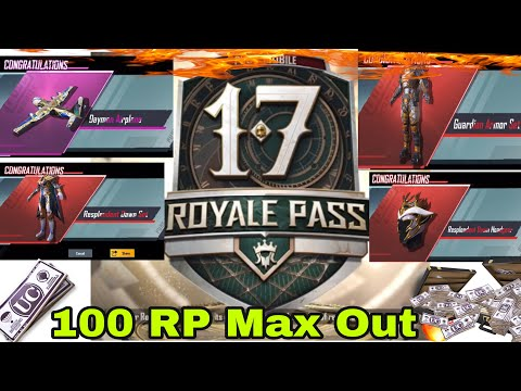 Season 17 100 RP Max Out !🤩 | PubgM | Vampire YT