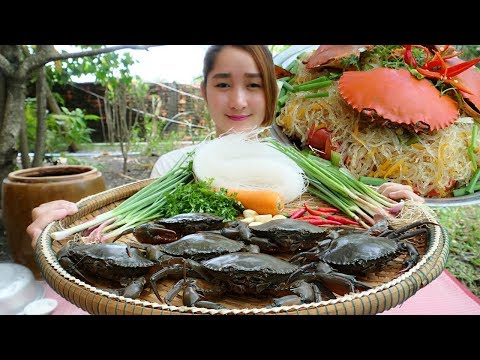 Yummy Mudcrab Steam Glass noodle Recipe - Mudcrab Steaming Cooking Style - Cooking With Sros - Thời lượng: 11 phút.