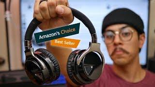 Video Testing Out Amazon's Best Seller Headphones - Cowin E7 Review! MP3, 3GP, MP4, WEBM, AVI, FLV Juli 2018
