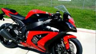 4. Overview and Review of the 2012 Kawasaki ZX10R Ninja Red Black