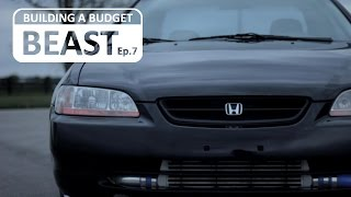 "In this latest episode of ""Building A Budget Beast"" we put the old Turbo Honda Accord, all 303,000 miles of her, against my brother's 3 series BMW.  His car is much newer, has 300% less mileage on it, and on paper is several seconds faster 0-60.  In this episode we will see how the Budget Beast does.  Music:Rocker by Audionautix is licensed under a Creative Commons Attribution license (https://creativecommons.org/licenses/by/4.0/) Artist: http://audionautix.com/""Tactical Confusion"" - YouTube Audio Library""Hey Sailor"" - YouTube Audio Library"