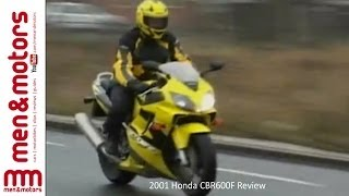 5. 2001 Honda CBR600F Review