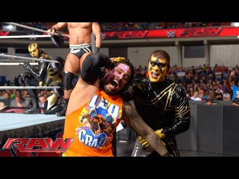 raw - The United States & Tag Team Champions join forces against their opponents at Night of Champions.