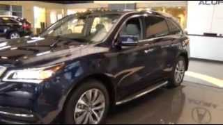 First Look New 2014 Acura MDX  Walk Around Video McDaniels Acura Columbia Charleston