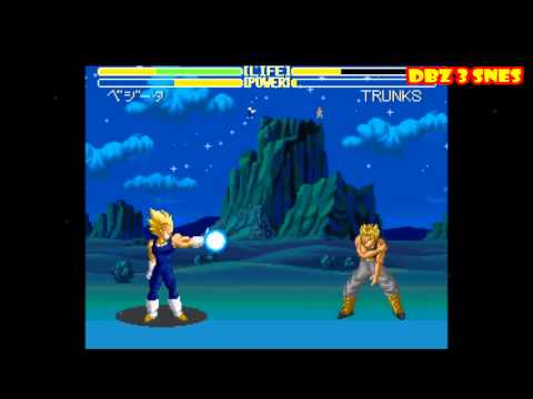 dragon ball z super nintendo games