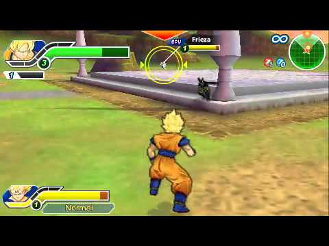 [PSP] DBZ Tenkaichi Tag Team Goku and Vegeta vs Cell and Frieza