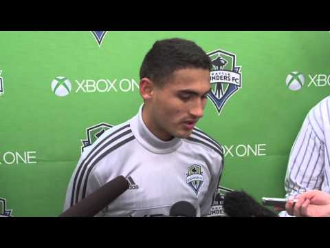 Video: Interview: Cristian Roldan on first MLS start and adapting to the league
