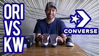 Download lagu Bahas Sepatu Ternyata Ini Bedanya Converse Ori Converse Kw Mp3