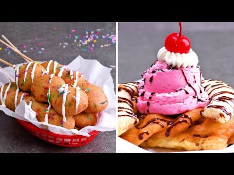DIY Fried Dessert Ideas For A Delicious Friyay Treat | So Yummy