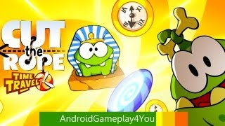 Cut the Rope: Time Travel videosu