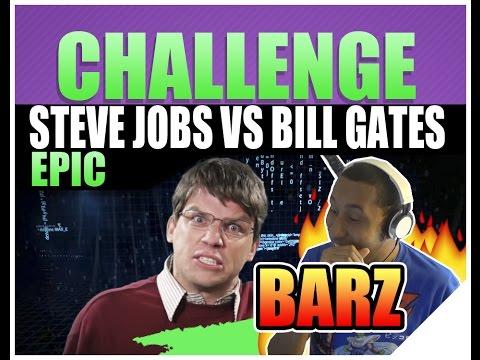 ERB Steve Jobs Vs Bill Gates Reaction   Epic Rap Battles Of History Season 2 (FIRE LYRICS)