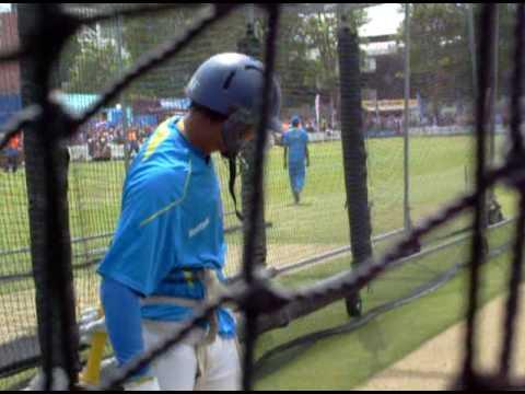 Tillakaratne Dilshan And Farveez Maharoof Practising | T20 WC England 2009